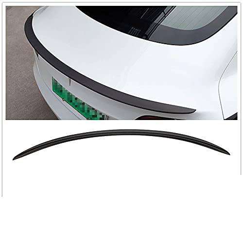 Tronco Trasero Spoiler Wing, para Tesla Modelo 3 Modelo3 2017-2019 DC Style Mate Real Fibra de Carbono Real Ventana del Techo Techo Splitter Funda de Labio