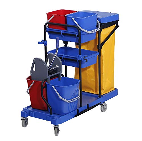Chiner Chariot de nettoyage professionnel complet