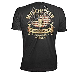 Winchester Men's  Short Sleeve Cotton T-Shirt