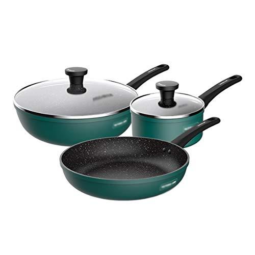 YWSZJ Juego de ollas de aleación de Aluminio NOTOS Multi Funcional Utensilios para cocinas para el hogar Utensilios de Cocina