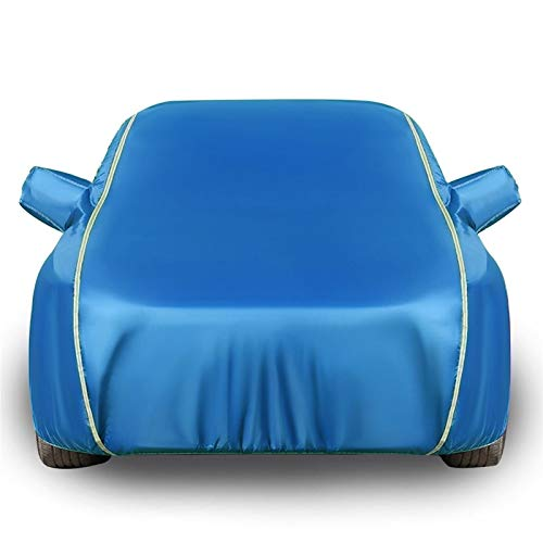 Car Cover Funda para Coche Compatible con Volvo C70, Impermeable Todo Clima Oxford Multicapa Anti-UV a Prueba de Polvo Cubierta para Coche Car Funda de Coche de algodón Personalizable