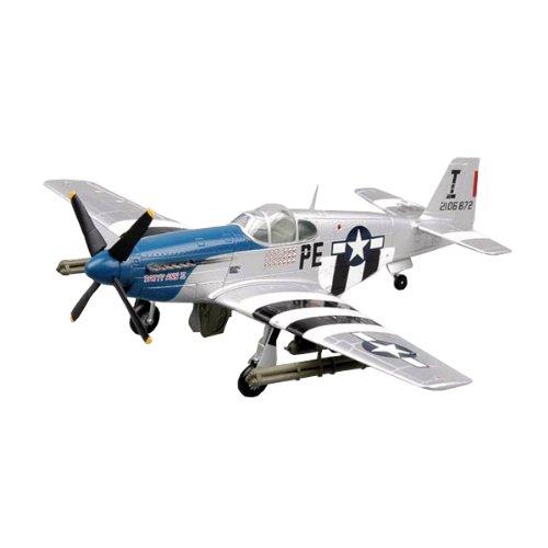 Easy Model 36355 P-51B Patty Ann II (42-106872) - Avioneta a escala con soporte [Importado de Alemania]