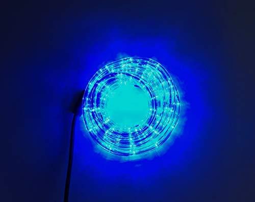 LED Lichtschlauch Lichterschlauch Licht Schlauch Lichterkette Außen Innen 4 Farben 5 Meter (Blau)