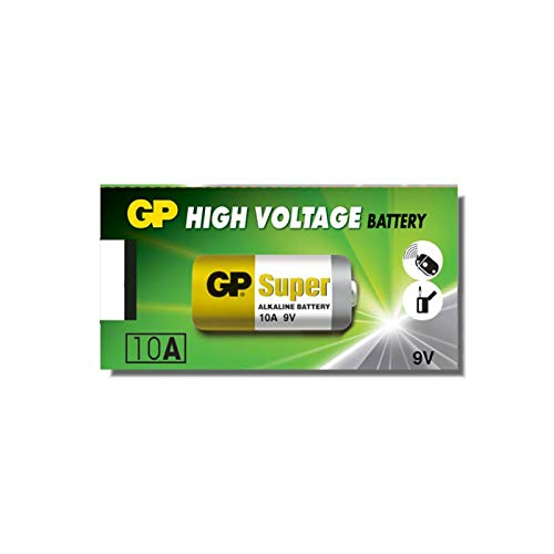 GP Lot de 10 piles alcalines haute tension (Pack de 5)