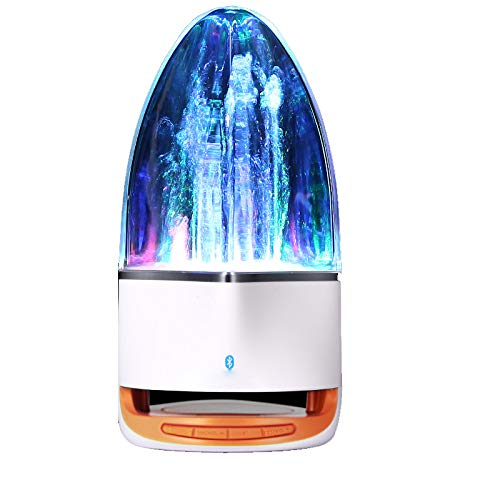 ZZWBOX Creative Water Dance Water Jet Audio, Altavoz Bluetooth Inalámbrico, Altavoz Subwoofer...