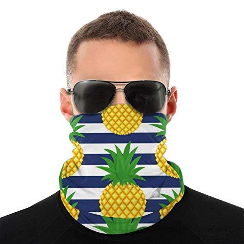Bandeau, écharpe Bandana sans couture élastique de fruits d'été d'ananas mignon, série de chapeaux de sport de résistance aux UV randonnée équitation moto