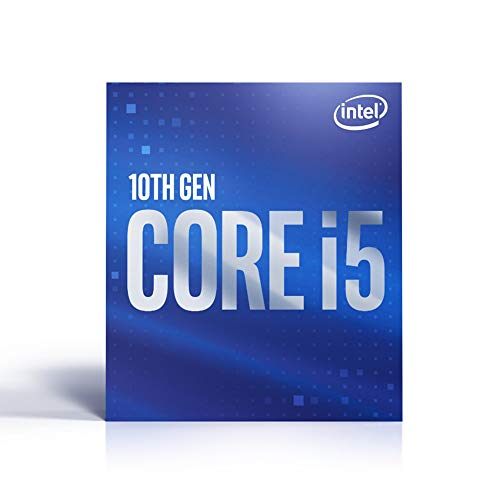 Intel Core i5-10400 (tatto: 2,90 GHz; attacco: LGA1200; 65 Watt).