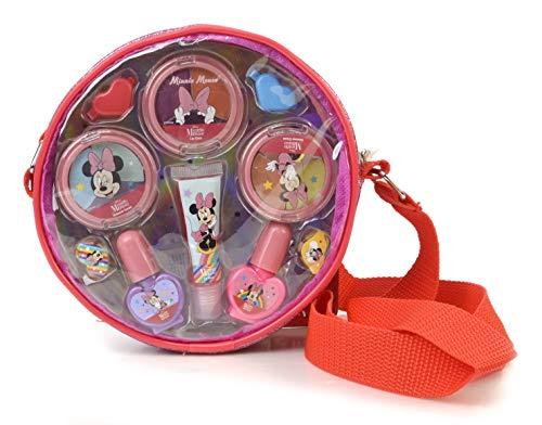 Minnie Mouse Beauty Fashion Bag - Bolso de Maquillaje - Set de Maquillaje para Niñas - Maquillaje Minnie Mouse - Neceser Maquillaje, Selección de Productos Seguros en un Bolso Fashion