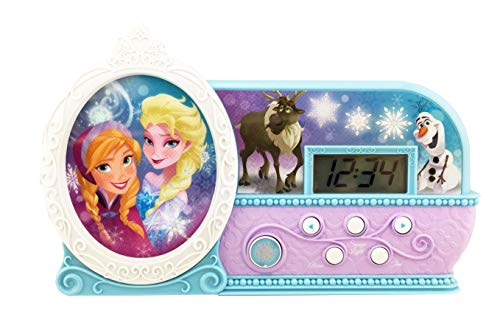 KIDdesigns Frozen Night Glow Alarm Clock(Discontinued by manufacturer)