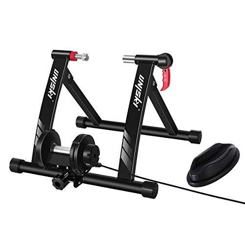 Unisky – Soporte magnético para entrenamiento de bicicleta de interior con 6 niveles de...