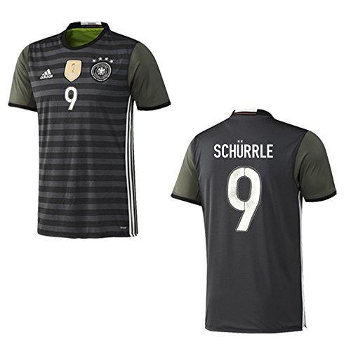 adidas DFB DEUTSCHLAND Trikot Away Kinder EURO 2016 - SCHÜRRLE 9, Größe:176