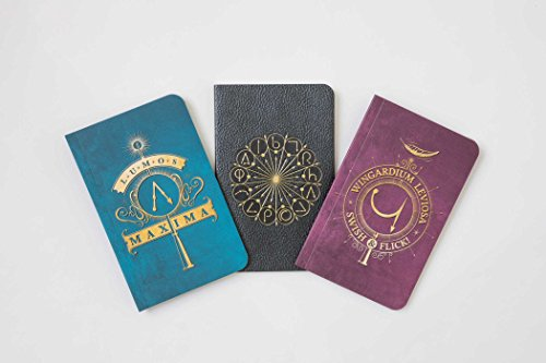 Harry Potter: Spells Pocket Notebook Collection (Set of 3)