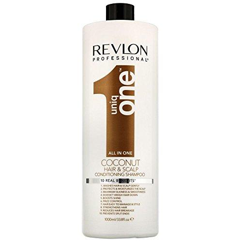Revlon UniqOne Coconut Conditioning Champú - 1000 ml