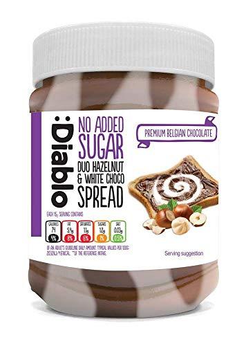 Diablo Duo Hazelnut & White Choco Spread (350g)