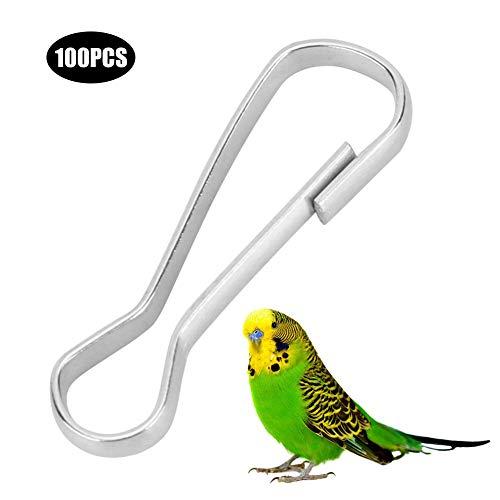 Pssopp 100PCS Bird Hooks Metal H...