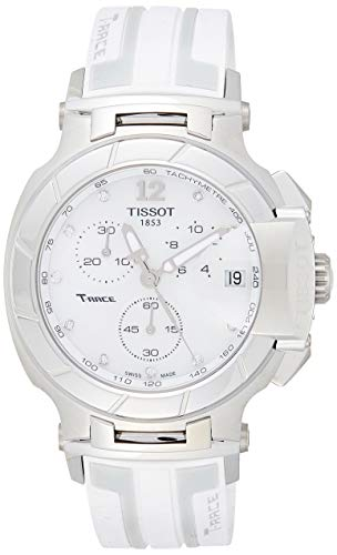 Tissot T0484171711600 T-Racechronograph Rubber Ladies Watch