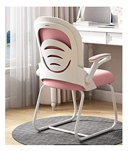 Escritorios y sillas de oficina, sillas de oficina en forma de arco con apoyabrazos, sillas de computadora multifuncionales, sillas de trabajo de tocador para dormitorio. ( Color : C , Size : 4pcs )