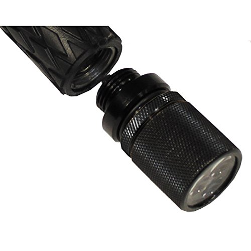 MFH Schlagstock-Lampe mit 3 weißen LED Zubehör für Tonfa Polizei Security Licht Taschenlampe