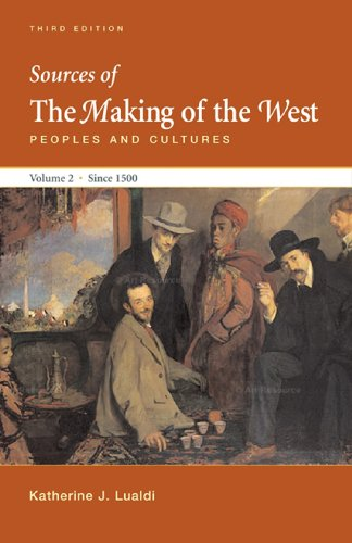 Sources of the Making of the West: Peoples and Cultures: 2