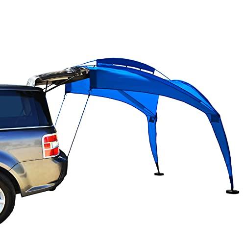 Eurow Tail Gator Parasole Portable Paralume, Blue