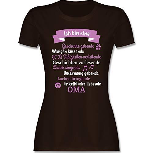 Geburtstag - Ich Bin eine Oma! - XL - Braun - Shirt ich Bin oma - L191 - Tailliertes Tshirt für...