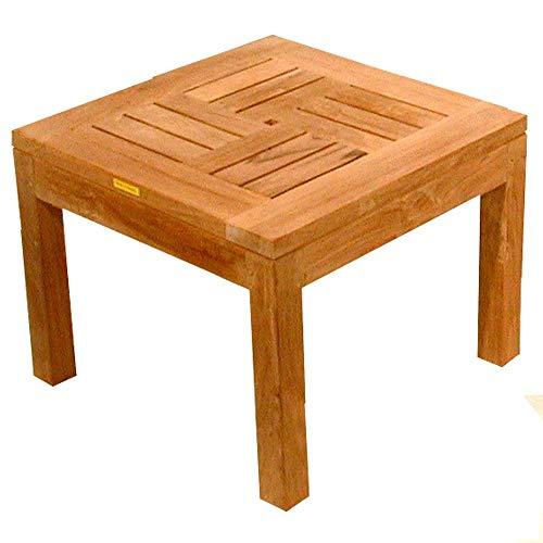 Teako Design Beistelltisch Messina Teak Massivholz