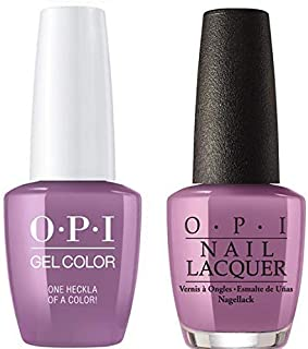 One Heckla of a Color! Nail Lacquer + Gel New Bottle I62