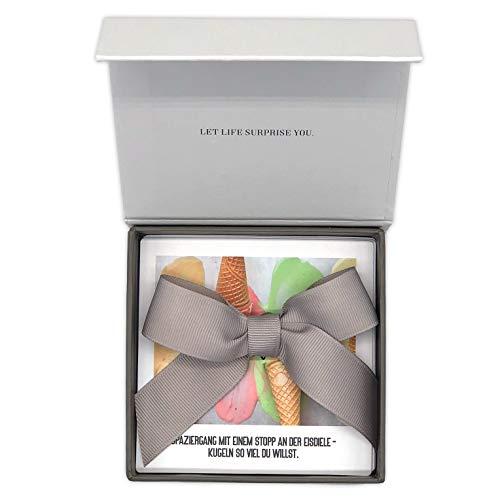 24 Gutscheine für gemeinsame Aktivitäten in einer Box – Romantisches & kreatives Geschenk für Freunde, Frau, Mann zum Geburtstag, Jahrestag, Hochzeitstag, Jubiläum