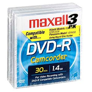 Maxell MXL-DVD-R/CAM/3 3' DVD-R for Camcorders