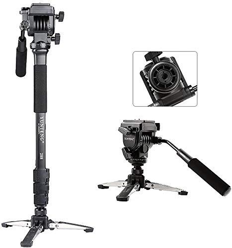 VFOTO® Yunteng VCT-288 Fotografía 58-Inch ligero Fotografía Trípode Y Monopod con Nivelado Fluidos Y 3/8 a 1/4 Tornillo para Canon Nikon DSLR Camera