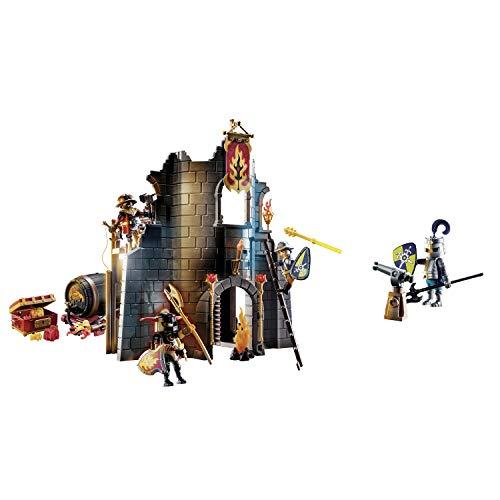 Playmobil Novelmore 70539 Burnham Raiders - Rúina de fuego para niños de 4 a 10 años