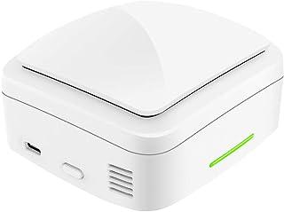 Huiingwen X1 - Caja esterilizadora UV para el hogar, desinfectante de ozono, con lámpara RGB, dispositivo de limpieza de líquido de limpieza