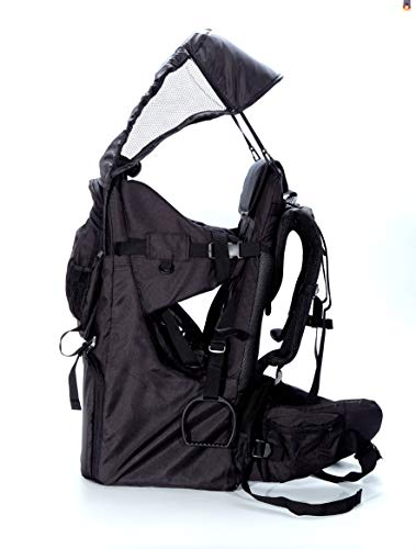Great Deal! Baby Toddler Hiking Backpack Carrier Camping Child Carriers with Rain Cover Stand Child ...