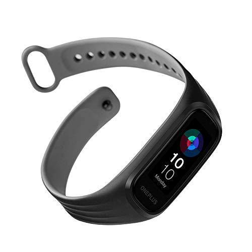 (Renewed) OnePlus Band : Smart Every wear : 1.1 AMOLED Display, Dual-Color Band Design, Continuous Blood Oxygen Saturation Monitoring Sp02, 5ATM + IP68 Water & Dust Resistant