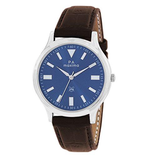 Maxima Analog Blue Dial Men's Watch - O-44961LMGI