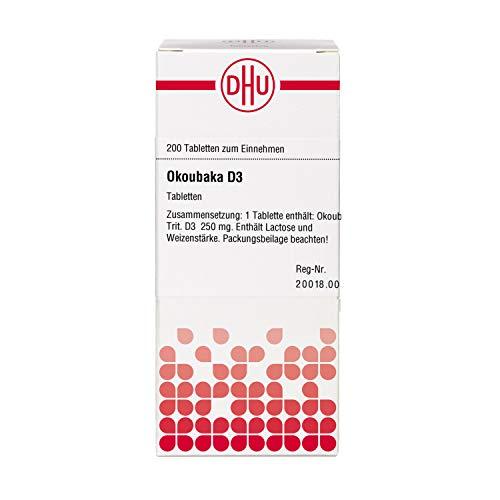 DHU Okoubaka D3 Tabletten, 200 St. Tabletten
