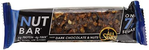 All Stars Barretta, Cioccolato Fondente e Frutta Secca - 960 g, Confezione da 24