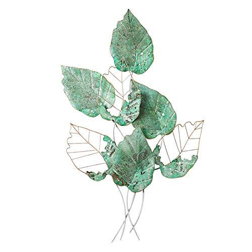 SHY Metallische Wandkunst Antike Baum Zweigs Alte Verarbeitung Handgemachte Kunstwerk Modernes Dekor für Wohnzimmer Küche oder im Freien Wohnaccessoires Kunstwerk