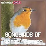 Songbirds of North America Calendar 2022: Official Birds Calendar 2022, 18 Month Photo of Cute Bird calendar 2022, Mini Calendar