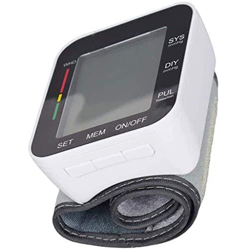Automatische Digitale Polsbloeddrukmeter, Manchetmachine Bloeddrukmeter Automatische Bloeddrukmeting Met Hartslagpulsdetectie, Groot LCD-Scherm