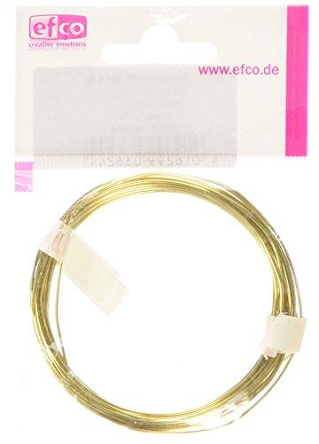 efco - Filo d\'ottone, Spessore 0,8 mm, Lunghezza 6 m