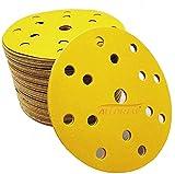 ALLDREW - Dischi abrasivi da 150 mm, grana 800 – 20 dischi, 15 fori, per levigatrice orbitale/DA e disco