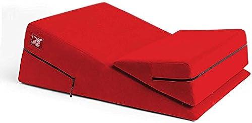 Schlafzimmer-Abenteuer-Set der Paare Ged tnis-Schaum-Keil-Kissen-starkes Anti-Skid wasserdichter und schwerer Gebrauch kombinierte Set-Abenteuer-Geschenk für Paare rot