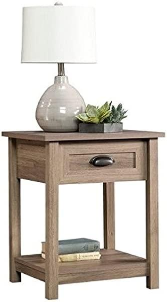Pemberly Row End Table In Salt Oak