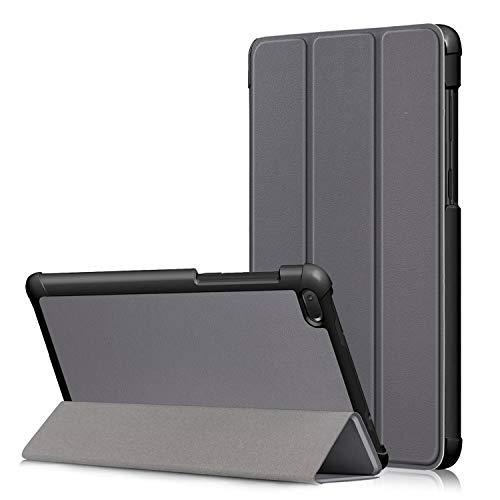 Fmway Lenovo Tab E7 Hülle, PU Leder Flip Schutzhülle Cover Hülle Tasche mit Ständerfunktion für Lenovo Tab E7 TB-7104F 2018