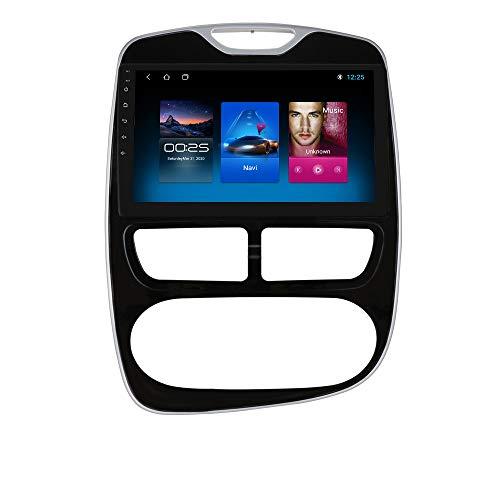 Android 10 Navegación GPS Radio Estéreo para Automóvil con Pantalla Táctil de 10.1 Pulgadas Compatible con Renault Clio 2012 2013 2014 2015 2016 Soporte WiFi SWC Cámara Trasera Bluetooth