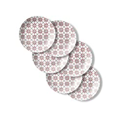 This set contains six 8-1/2 inch salad plates The perfect addition to the 18 piece set Nothing-else-like-it, triple-layer-strong glass plates and bowls—say goodbye to chips & cracks Ultra-hygienic, non-porous and easy-to-clean plates and bowls Plates...