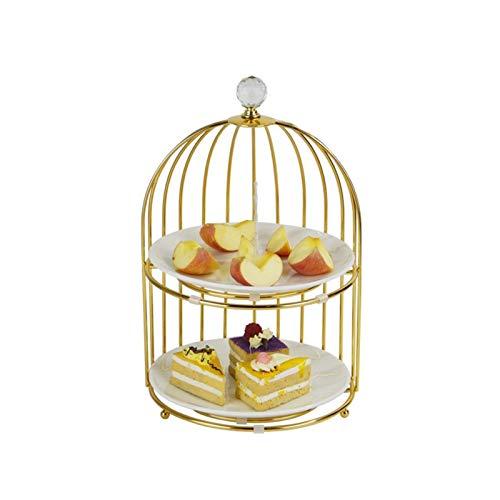 DIBAO Tarde té para fiesta de té, soporte creativo para tartas de...