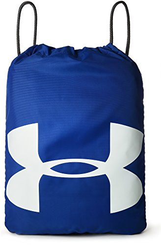 Under Armour Ozsee Athletic Backpack, Carry-All Gym Rucksack for Men and Women, Running Bag with Chest Clip and Drawstring
