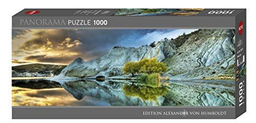 Heye 29715 - Panorama Puzzle, Blue Lake, 1000 Partes, Alexander Von Humboldt, Multicolor
